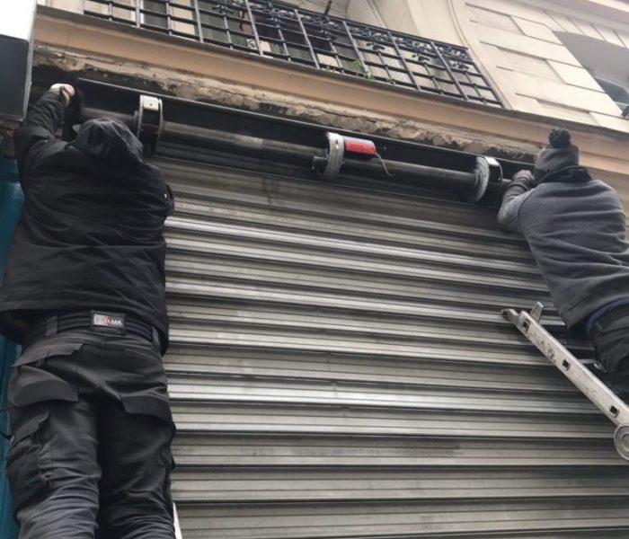 réparation rideaux métalliques Paris